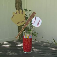 Baseball Table Decorations