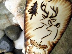 Camo Hunting | Camo Wedding cake topper -Deer hunting pyrography -Personalizable