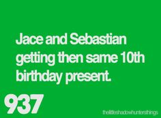 Um it was the same 9th birthday present... Just wanting to point out... Not like I just know this stuff