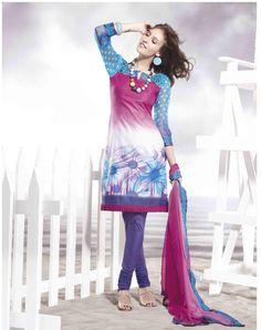 Google Image Result for http://www.indianclothstore.com/productimages/aqua-blue-deep-pink-deep-purple-designer-cotton-suit-dress-11470.jpg
