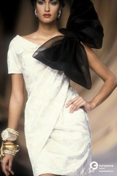 1991 Christian Dior, Spring-Summer Couture.