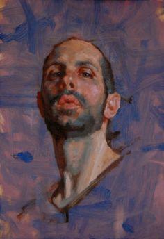Kerry Dunn Studio: self portrait sketches 6x9