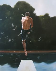 Diving board - you could always do the best tricks