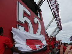 Unveiling Eric LeGrand's retired #52