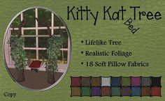 *ZK* Kitty Kat Tree Bed