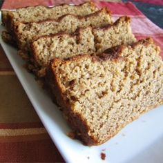 Brown Sugar Banana Bread - - Brown sugar and cinnamon add depth to this moist, sweet bread. The perfect present for friends and loved ones! Brown Sugar Banana Bread, Best Banana Bread, Banana Bread Recipes, Brownie Recipes, Dessert Bread, Fruit Bread, Fruit Fruit, Challah, Deserts