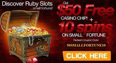 ruby slots casino bonus