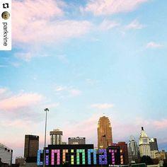#Repost @parkvine with @repostapp Happy Pride, Cincinnati. We love you. Photo: Alex Peppers #cincinnati #pride #cincinnatipride (scheduled via http://www.tailwindapp.com?utm_source=pinterest&utm_medium=twpin&utm_content=post89994285&utm_campaign=scheduler_attribution)
