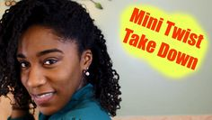 How to: Remove Mini Twist Safely Style Its time to take down my mini twist! So I want to share how I safely remover my mini twist and then rock a twist out right after. #Winterprotectivestyle _______________________________________________________________ Please SUBSCRIBE comment and like!!! _________________________________________________________________ Follow me: Instagram: @Justcallmeshy Twitter: @JustCall_MeShy Facebook:http://on.fb.me/1TGeeCi... Snapchat: Justcall_meshy…
