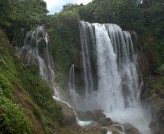 Pulhapanzak Falls  Lago de Yojoa, Honduras  Yeah, I hiked under those, no biggie :)