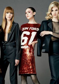 Tom Ford Fall/Winter 2014 Advertising Campaign, ph. by Johnny Dufort.