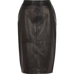 I'm shopping Black leather high waisted pencil skirt in the River Island iPhone app. High Waisted Pencil Skirt, River Island, Leather Skirt, Black Leather, Iphone App, My Style, Skirts, Weather, Trends
