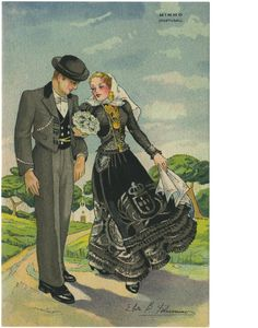 O mau gosto de Elisa Portuguese Culture, Folk Clothing, Folk Dance, Old Postcards, Vintage Advertisements, Traditional Outfits, Vintage Posters, Old Things, Costumes