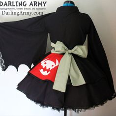 Toothless How to Train Your Dragon Kimono Dress Wa Lolita Skirt Accessory | Darling Army