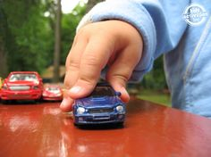 13 fun ways for your kids to play with cars - they will love the masking tape vertical roads!