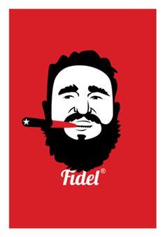 Poster Fidel do Studio Robertoweigand por R$45,00