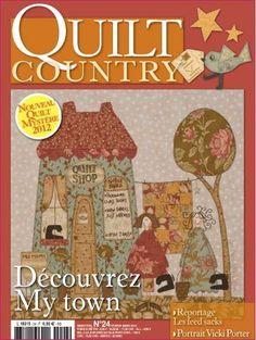 revista quilt country - Buscar con Google