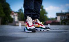 The Nike Air Max 270 React released today. Did you cop? #airmax270react #nikereact #bauhaus #highsnobiety #hypebeast #grailify #igsneakercommunity #instashoes #kicks #kicksonfire #kickstagram #kotd #modernnotoriety #nicekicks #nike #nikereact #nikerunning #ootd #picoftheday #shoes #sneaker #sneakerfreaker #sneakerhead #sneakerheads #sneakernews #sneakers #soleonfire #streetwear #style #wdywt Blue Jeans Outfit Men, Blue Jean Outfits, Blue Denim Jeans, Nike Air Max, Air Max Sneakers, Sneakers Nike, Shoes World, Sneaker Release, Pink Nikes