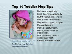 Sometimes getting your kids to nap is a struggle. This may help!