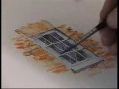 TUTORIAL - Very helpful! Watercolor Pencil Techniques - great examples of broken colour, hatching, textural variety etc. Watercolor Video, Watercolor Tips, Watercolour Tutorials, Watercolor Paintings, Watercolours, Abstract Paintings, Oil Paintings, Painting Lessons, Art Lessons