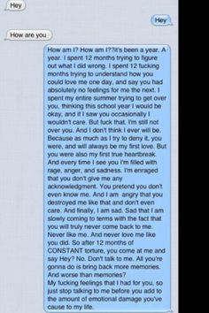 For all those who feel heartbroken: read it, feel it. Wow.... This is so accurate to feelings that seem to come with heartbreak.