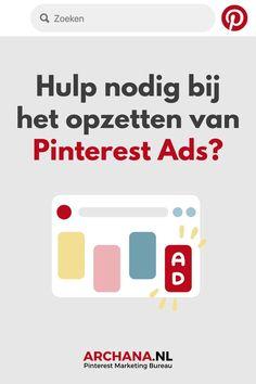 Heb je al gebruik gemaakt van Pinterest Adverteren maar zonder resultaat? Heb je weinig ervaring met het opzetten van betaalde advertenties? Lukt het je niet om aantrekkelijke pins te creëren? Geef Pinterest adverteren uit handen en wij zorgen voor de beste resultaten - ARCHANA.NL | adverteren op pinterest nederland | pinterest ads | pinterest ads manager | pinterest ads advertising | promoted pins | pinterest adverteren uitbesteden | online adverteren | online marketing