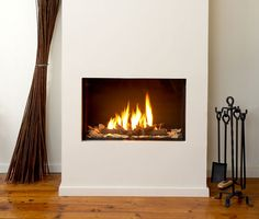 The Ortal Clear 70 Fireplace features a balanced flue and provides up to BTUs when using natural gas with LP gas). Fireplace Wall, Fireplace Design, Fireplace Modern, Contemporary Fireplaces, Linear Fireplace, Bedroom Fireplace, Fireplace Inserts, Wood Burner, Ideas