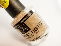 The Northern Light Gold top coat was created by blending holographic film particles with INM Out the Door fast drying topcoat. It dries smooth to the touch and can easily be removed with polish remover.  Apply over any polish color or nail enhancement and watch the magic happen! A dazzling prism of three dimensional accents adds mesmerizing depth and brilliance beyond compare.  Since its creation more than 20 years ago, INM has become one of the great names in the nail polish industry…