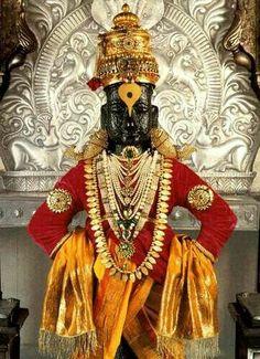 विठ्ठल जी Lord Vishnu, Lord Ganesha, Lord Shiva, Krishna Radha, Hare Krishna, Shiva Songs, Shiva Meditation, Indian Drawing, Swami Samarth