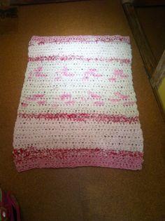 Teppich gehäkelt aus Bettwäsche                                                                                                                                                      Mehr
