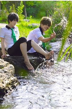 Best Cosplay, Free Cosplay, Anime Cosplay, Haru And Makoto, Human Poses Reference, Makoharu, Free Iwatobi Swim Club, Fujoshi, Handsome