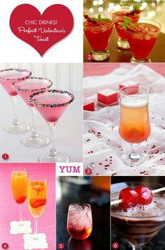 Cute drinks! Non alcoholic for the wedding though