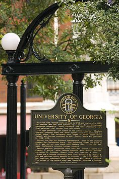 The great University of Georgia in Athens, GA.  Love this school...love this town!