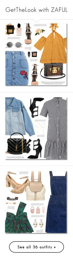 """""""GetTheLook with ZAFUL"""" by defivirda ❤ liked on Polyvore featuring Kendall + Kylie, Bobbi Brown Cosmetics, Grown Alchemist, Forever 21, Armani Beauty, John Varvatos, Giorgio Armani, Yves Saint Laurent, M.i.h Jeans and mi.im"""