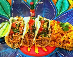 Recette - Tacos de poulet et riz mexicain | Notée 4/5