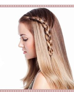 5 Different Types Of Braids - Varieties Of Braided Hairstyles French Braid Hairstyles, Side Hairstyles, Braided Hairstyles Tutorials, 2015 Hairstyles, Elegant Hairstyles, Pretty Hairstyles, Straight Hairstyles, Hairstyle Braid, Popular Hairstyles