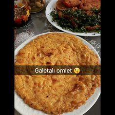 #galetaunu#omlet #yumurta #peynir #domatessuyu veya sosu