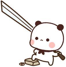 Panda Gif, Bear Gif, Seulgi, Cartoon Images, Quotation, Animated Gif, Emoji, Hello Kitty, Cartoons
