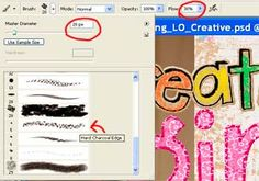 Scrap Girls University - Digital Scrapbooking Tutorial - How to Create a Crayon Colored Effect