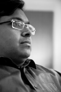 Dr. Devdutt Pattanaik (born December 11, 1970) is an Indian physician turned leadership consultant, mythologist and author whose works focus largely on the areas of myth, mythology, and also management. He has written a number of books related to Hindu mythology, over 15 of them, including Myth = Mithya: A Handbook of Hindu Mythology, Jaya: An Illustrated Retelling of the Mahabharata and The Pregnant King.