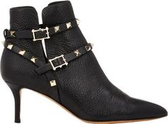 7dff39909f11 Valentino Rockstud Ankle Booties at Barneys New York Valentino Rockstud  Boots