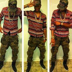 Love when boys wear camouflage