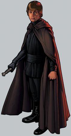New Jedi Order - Wookieepedia, the Star Wars Wiki Star Wars Luke Skywalker, Anakin Skywalker, Star Wars Jedi, Star Wars Art, Star Wars Personajes, Star Wars Episode Iv, Star Wars Costumes, Halloween Costumes, Star Wars Images