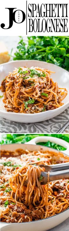 Spaghetti Bolognese is a classic Italian meat sauce that is a staple in most families. My super simple Spaghetti Bolognese is the perfect dinner for any night of the week and will wow your family or guests.