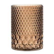 BROWN ETCHED CANDLE VASE FOR WEDDING OR PARTY DECOR   Candleholders Archives - Hire and Style | Hire and Style