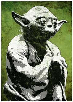 Yoda for the Star Wars Room