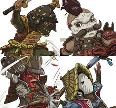 For Honor_Fan art, Iz vit on ArtStation at https://www.artstation.com/artwork/d61bK