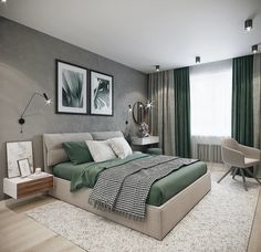 Interior Design _ Idea no. Luxury Bedroom Design, Bedroom Bed Design, Home Room Design, Bedroom Furniture Design, Home Decor Bedroom, Living Room Decor, Small Bedroom Interior, Kids Bedroom, Bedroom Ideas