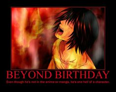 L And Beyond Birthday Beyond Birthday on Pinterest | Death Note, Birthdays and Death Note L
