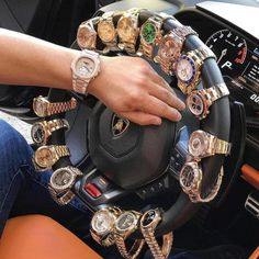 Powerful combination lambo with Rolex Fashion Bible, Fashion Quotes, Cool Watches, Rolex Watches, Mercedes Auto, Best Street Style, Rich Kids Of Instagram, Puma Sneaker, Patek Philippe
